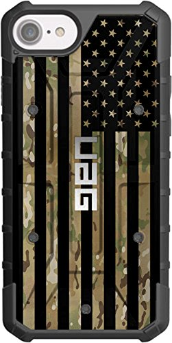 Scorpion 6 Cell - Limited Edition- Customized Designs by Ego Tactical Over a UAG- Urban Armor Gear Case for Apple iPhone 8/7/ 6s/ 6 (Standard 4.7