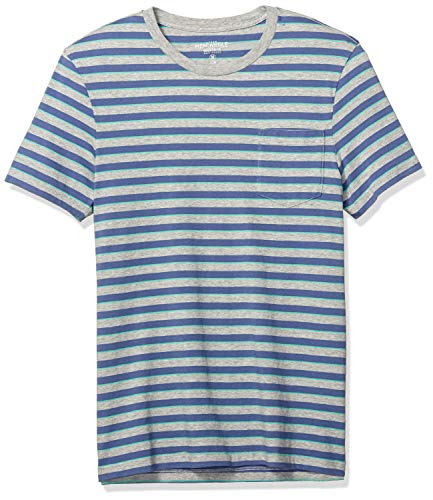 J.Crew Mercantile Men's Crewneck T-Shirt, Wiley Stripe for sale  Delivered anywhere in USA