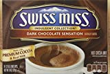 swiss miss dark hot chocolate - Swiss Miss, Dark Chocolate Sensation, Hot Cocoa Mix, 8 Count, 10oz Box (Pack of 2)