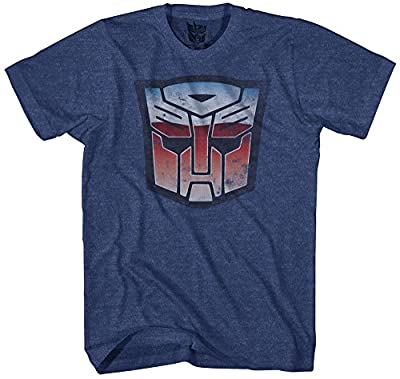 Transformers Men's Stressed Short Sleeve T-Shirt