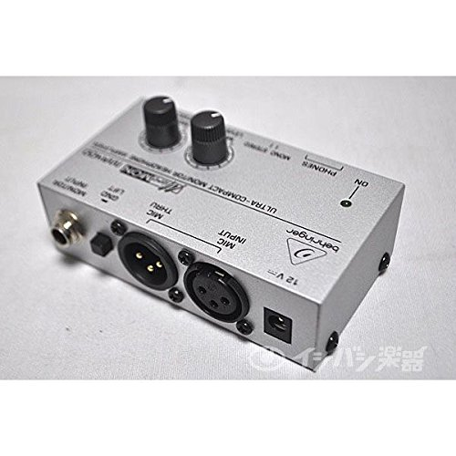 BEHRINGER MA400 Ultra-Compact Monitor Headphone Amplifier, Black