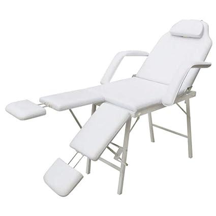 Sillón de podología altura del asiento 70 cm blanco crema ...