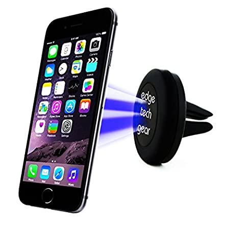 Edge Tech Gear Rotating Magnetic Cell Phone Holder with Sticker for Car Mount (Samsung Galaxy S4 Cases Kpop)