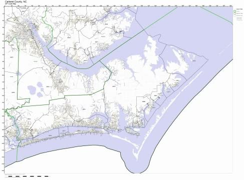 Map Of Carteret County Nc on
