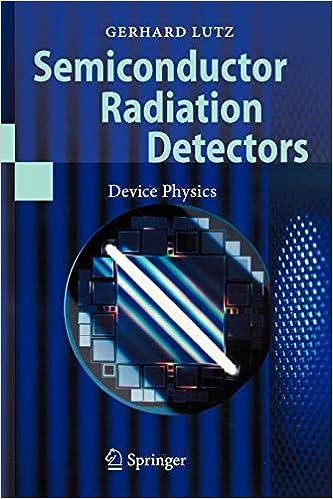 Semiconductor Radiation Detectors: Device Physics: Amazon.es: Gerhard Lutz: Libros en idiomas extranjeros