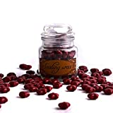 dark red sealing wax - TELOSMA A Bottle of Star Sealing Wax Beads for Wedding invitation Decoration, 100pcs, Dark Red