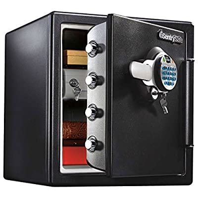 Fire and Water Resistant Biometric Digital Lock Safe