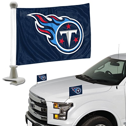 ProMark NFL Tennessee Titans Flag Set 2Piece Ambassador Styletennessee Titans Flag Set 2Piece Ambassador Style, Team Color, One Size