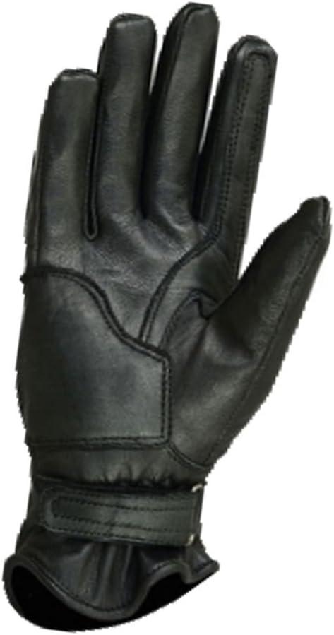 BOSmoto Motorrad Handschuhen Racing Kevlar gewachst Leder Handschuhe Wachs XL, Gelb