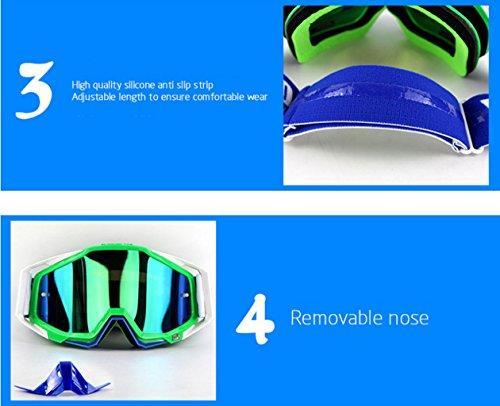 Gafas Prueba Impermeable Material PC a Prueba de traviesa Campo de explosiones esquí A e Polvo a wgqBwrx4