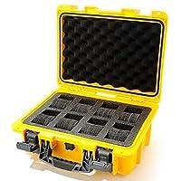 Invicta IG0098-RLC8S-Y 8 Slot Yellow Plastic Watch Box Case from Invicta