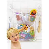 "Bath Toy Organizer -The Original Tub Cubby - Large 14x20"" Quick Dry Bathtub M..."