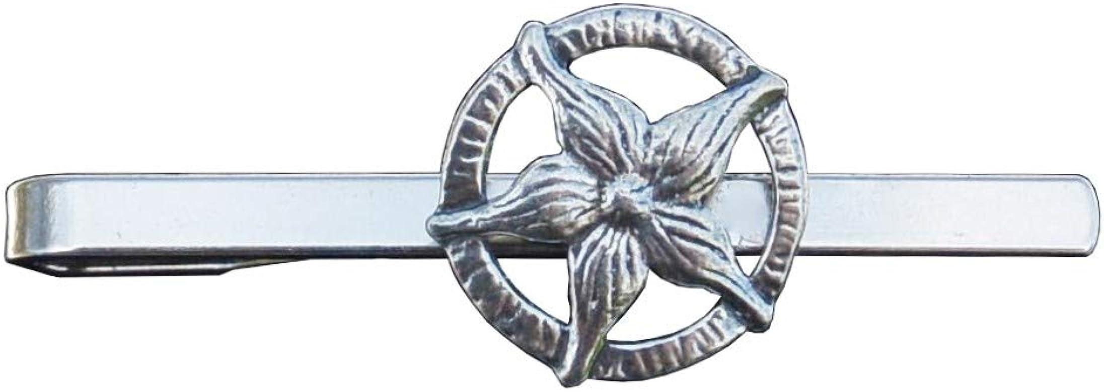 Kiwi Pinza de corbata Edelweis – hecho a mano en Estaño – Creación ...