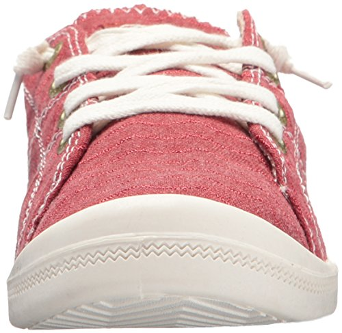 Women's Sneaker Shoe on Red Roxy Slip Bayshore v1wqdqHR