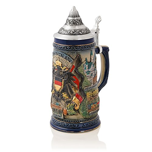 Munich Beer Germany (German Beer Stein