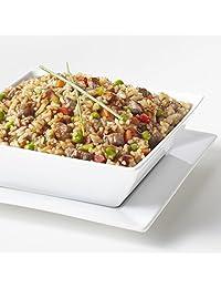 Augason Farms Teriyaki de estilo asiático con 100% carne de vacuno seca a la congelación de emergencia suministros de comida grande lata.