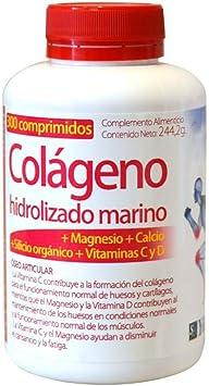 COLÁGENO HIDROLIZADO MARINO 180 Cáps. ZENTRUM- YNSADIET: Amazon.es: Salud y cuidado personal