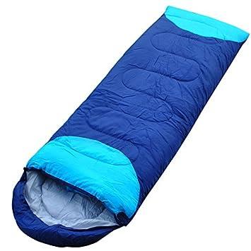 Primavera y Otoño Modelos Sacos de dormir adultos Outdoor Sacos de dormir de camping Sacos de dormir, azul oscuro: Amazon.es: Deportes y aire libre