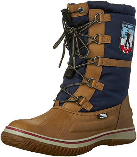Pajar Womens Grace Snow Boot Tan / Navy