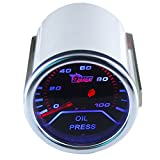 "ESUPPORT Car 2"" 52mm Oil Press Gauge Meter Pressure Automotive"