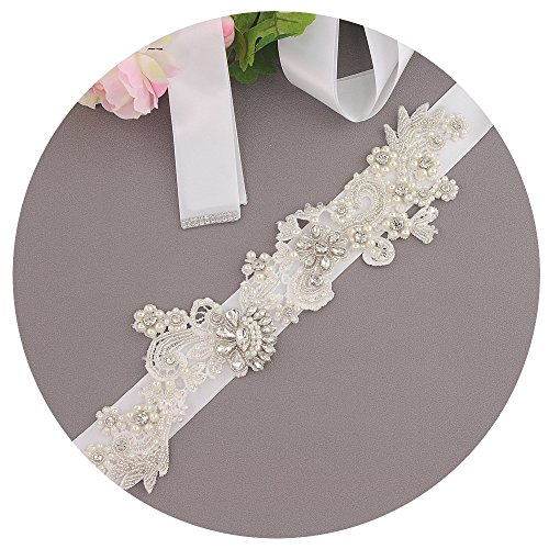 Cinture Perle Sposa Cristallo Da Sposa Il Sposa Per Vestito Fusciacche Cintura Da Bianco Battente Da Azalee YAFqnq5rwI