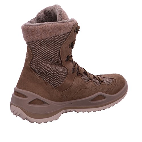 Lowa Calceta Gtx, Zapatos de High Rise Senderismo para Mujer taupe/stein