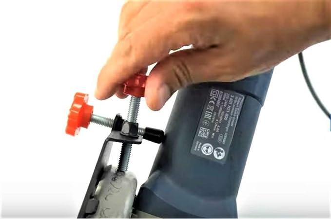 Fliesenschneider SLIDER 45 °// 115-125mm Winkelschleifer Kantenschnitt Tool Kante
