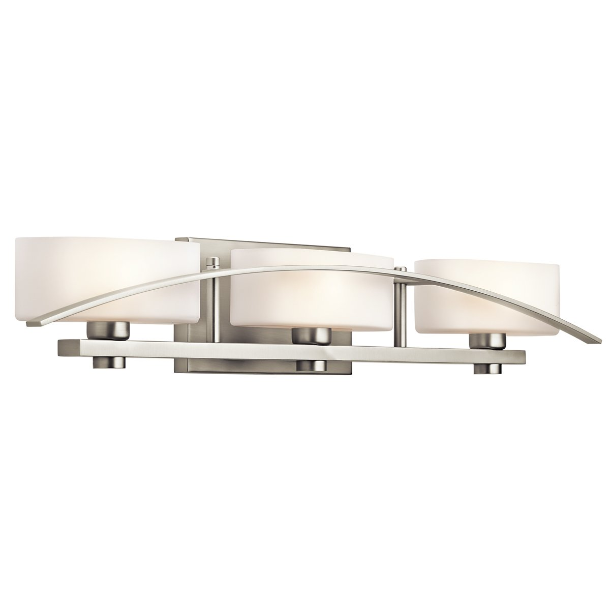 Kichler Lighting 45317NI Suspension 3Light Vanity Fixture
