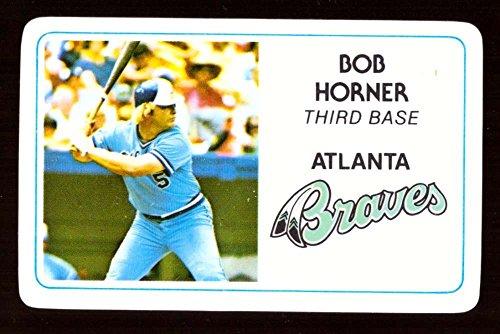 1981 Perma-Graphics Credit Cards - ATLANTA (Atlanta Braves Credit Card)