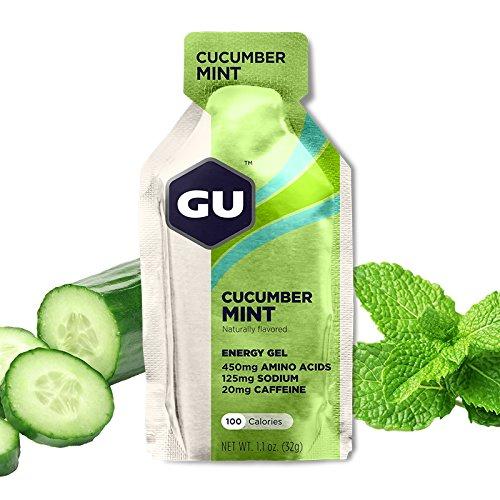GU Energy Labs Original Sports Nutrition Energy Gel, Cucumber Mint, 24 Count (Gu Energy Labs Original compare prices)