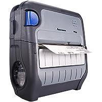 Intermec PB50B10004100 PB50 4 Rugged Mobile Thermal Label Printer, RS232 Serial, USB, Multi Print Language, BT Radio, 16 MB RAM/64 MB Flash, 4 ips, 203 dpi