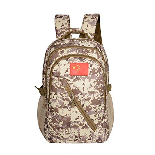 KYFW Camouflage Rucksack Tactical Paket Große Kapazität Bergsteigen Tasche Outdoor Sport Männliche Tasche,D-32*20*45cm-20-35L B-32*20*45cm-20-35L