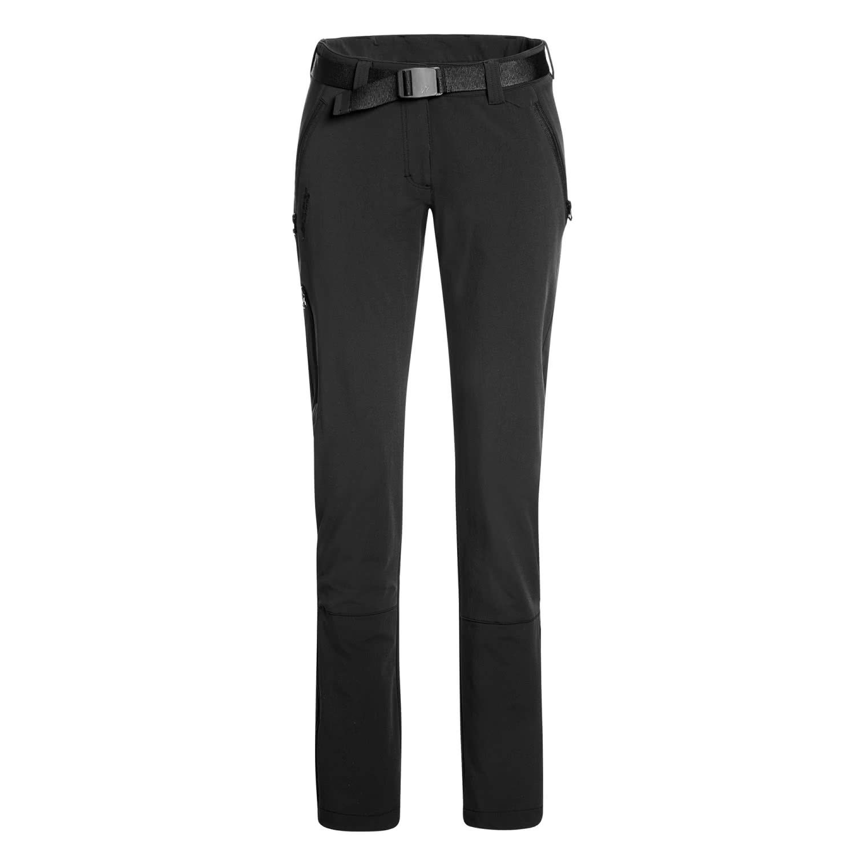 Noir  Maier Sports Lana Slim Pantalon de Trekking