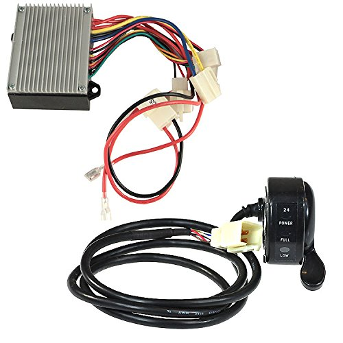 AlveyTech HB2430-TYD6K-FS Razor 6-Wire Throttle & Controller Bundle for The Razor Dune Buggy (All Versions)