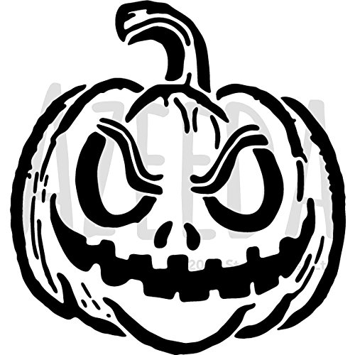 Azeeda A4 'Halloween Pumpkin' Wall Stencil / Template (WS00006567)