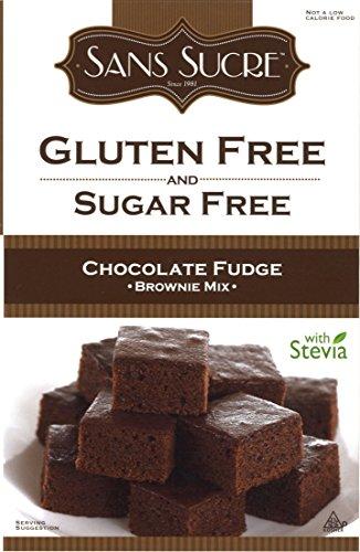 Sans Sucre Gluten Free and Sugar Free Chocolate Fudge Brownie Mix, 16 (Chocolate Fudge Mix)