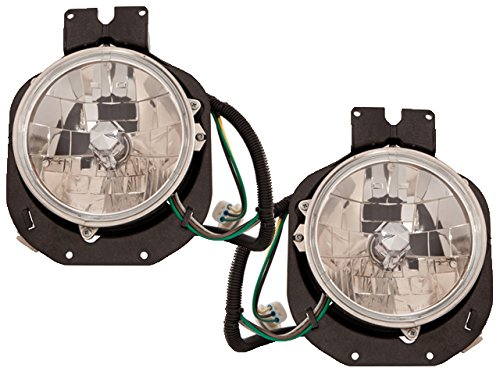 Freightliner-Century-96-05-Outer-Clear-Head-Light-Pair-A0625472000-A0625472001