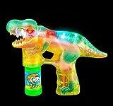 8'' LIGHT-UP T-REX BUBBLE BLASTER, Case of 12