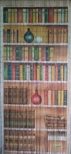Bookcase Beaded Curtain 125 Strands (+hanging hardware)]()