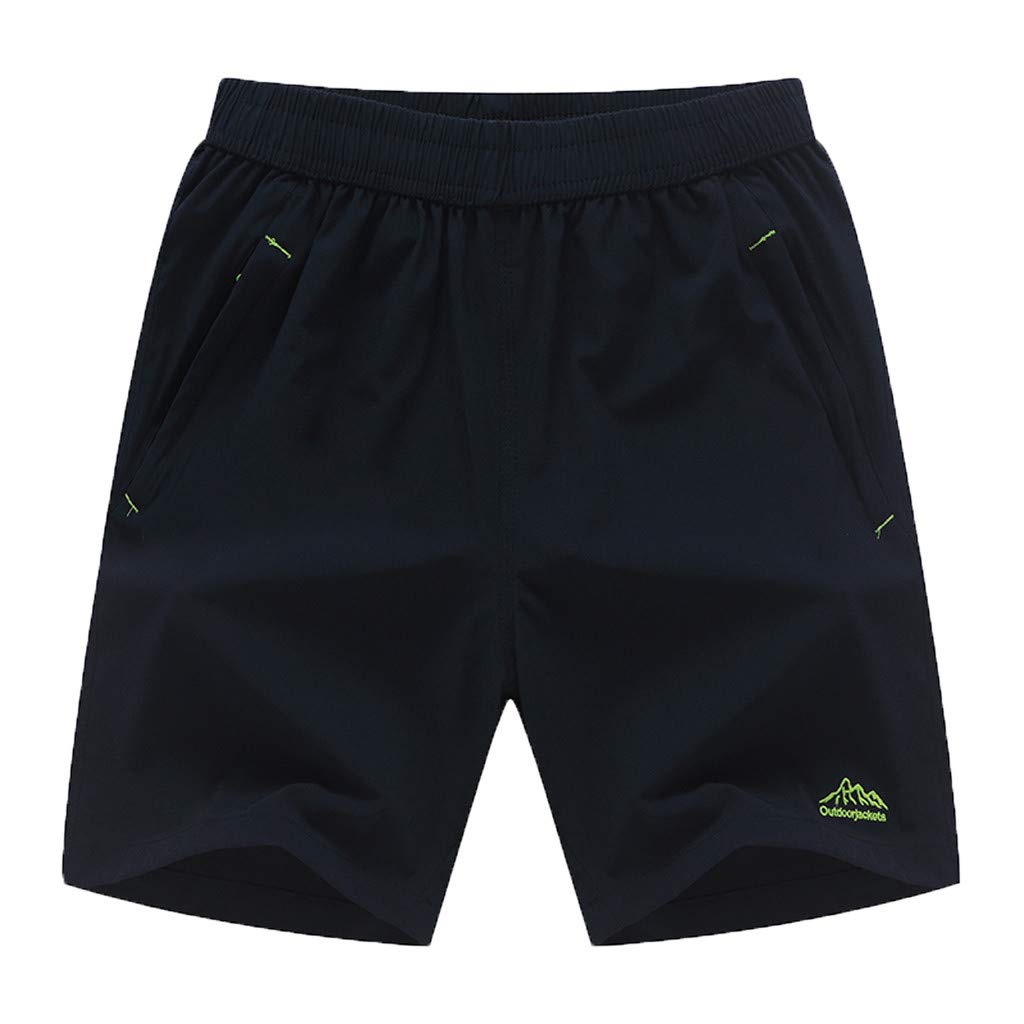 Pantalones Hombre B/óxers ♡♡Fannyfuny♡ Casuales Pantalones Cortos con Cordones Deportivo Casual Hombre del Bodybuilding Gimnasio Jogging Bermuda Short Pantalones Cortos