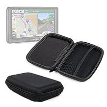 Pour GPS/ assistant de navigation Garmin RV 760LMT, nüvi 66LM, 2639LMT, 2689LMT, Mappy Ulti E508 Europe : Housse rigide de protection + chiffon - DURAGADGET