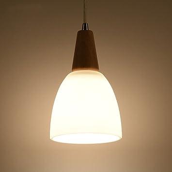 PLLP Lámparas de Madera Minimalistas Modernas, Luces de ...