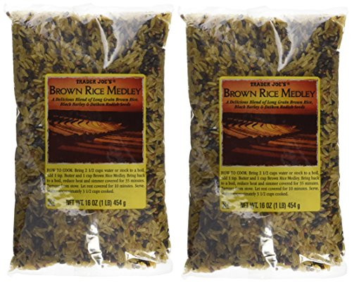 Trader Joe's Brown Rice Medley, 16 oz (Pack of 2) For Sale