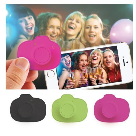 Decor Craft Inc (Selfie Snap Wireless Smartphone Camera Remote (Black))