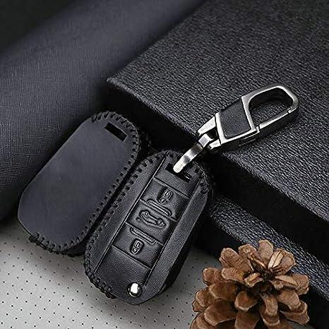 Funda para llave de coche con llavero para Citroen C4 Grand ...