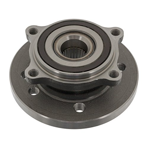 febi bilstein 22315 wheel bearing kit with ABS impulse ring (front axle both sides) - Pack of -