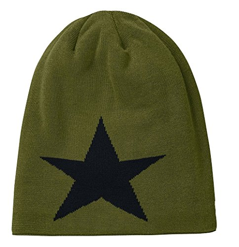 Star of 2 Unisex Jersey Oliv Uni Beanie Pack Brandit RSXqxP0nP