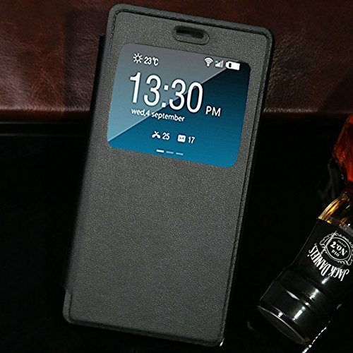 SmartLike GIONEE F103 Pro Window Leather Flip Cover for GIONEE F103 Pro