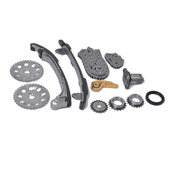 Bobury Enlaces 52/134 eslabón de la Cadena de Engranajes de distribución del Kit Compatible para 01-15 Toyota Scion 2.0 2.4 1AZFE 2AZFE 2AZFXE: Amazon.es: ...