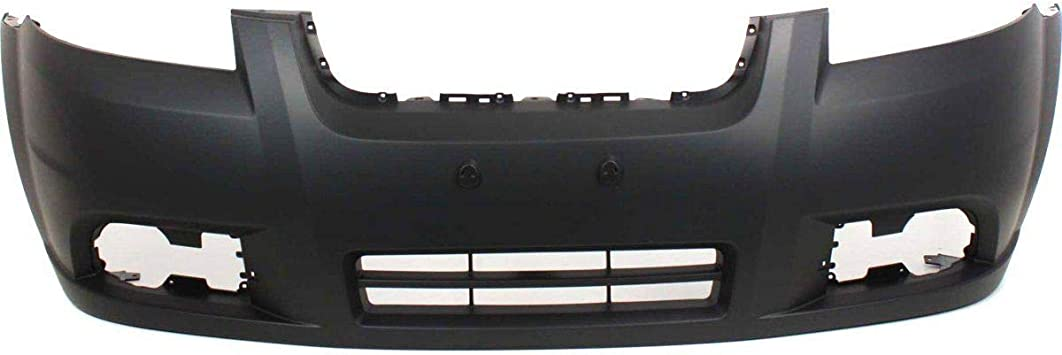 NEW FRONT BUMPER COVER W// FOG LIGHT HOLES FITS 2007-2011 CHEVROLET AVEO 96648503